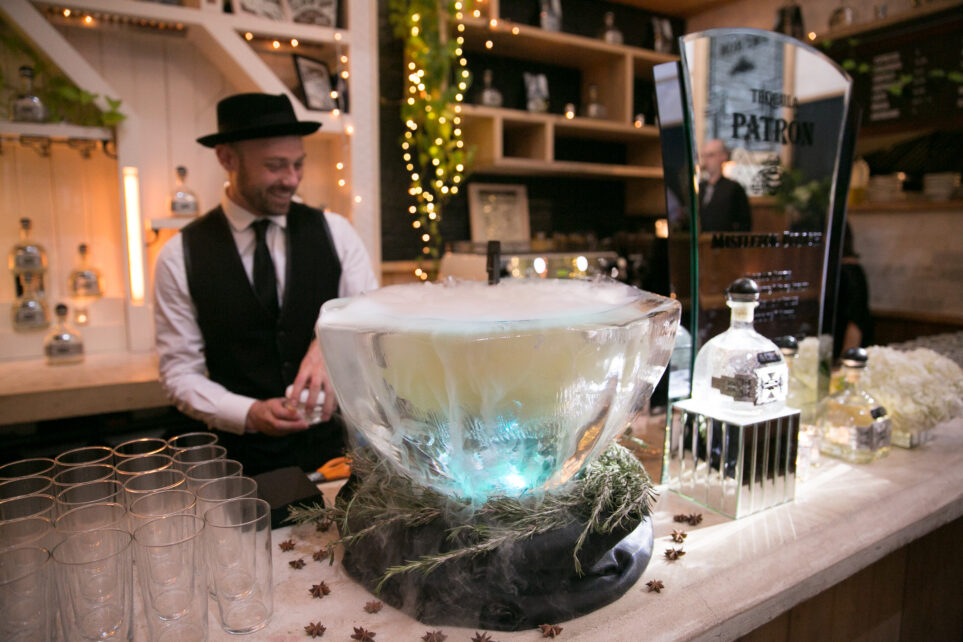 Dry ice punch